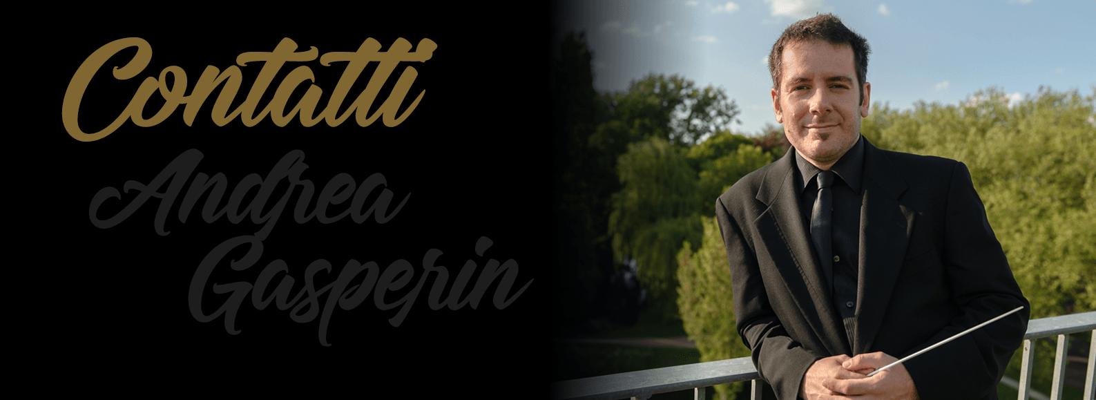 Andrea Gasperin - Contatti