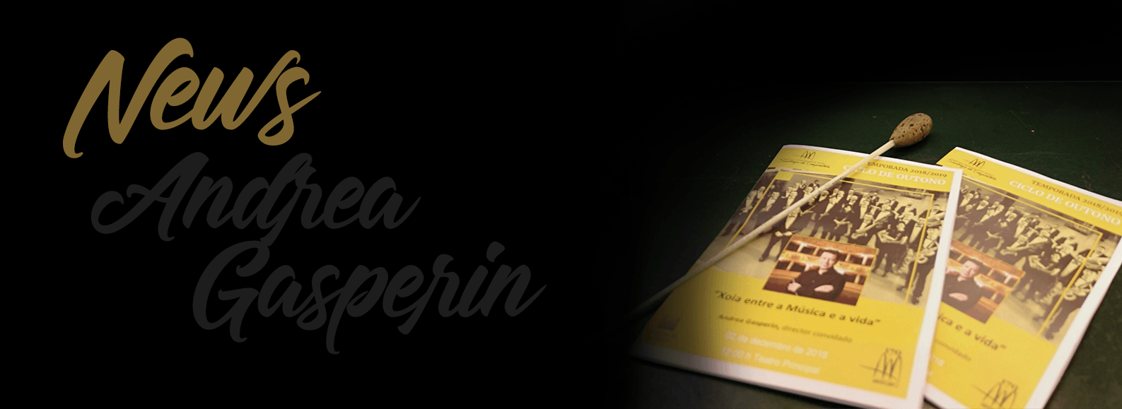 Andrea Gasperin - News